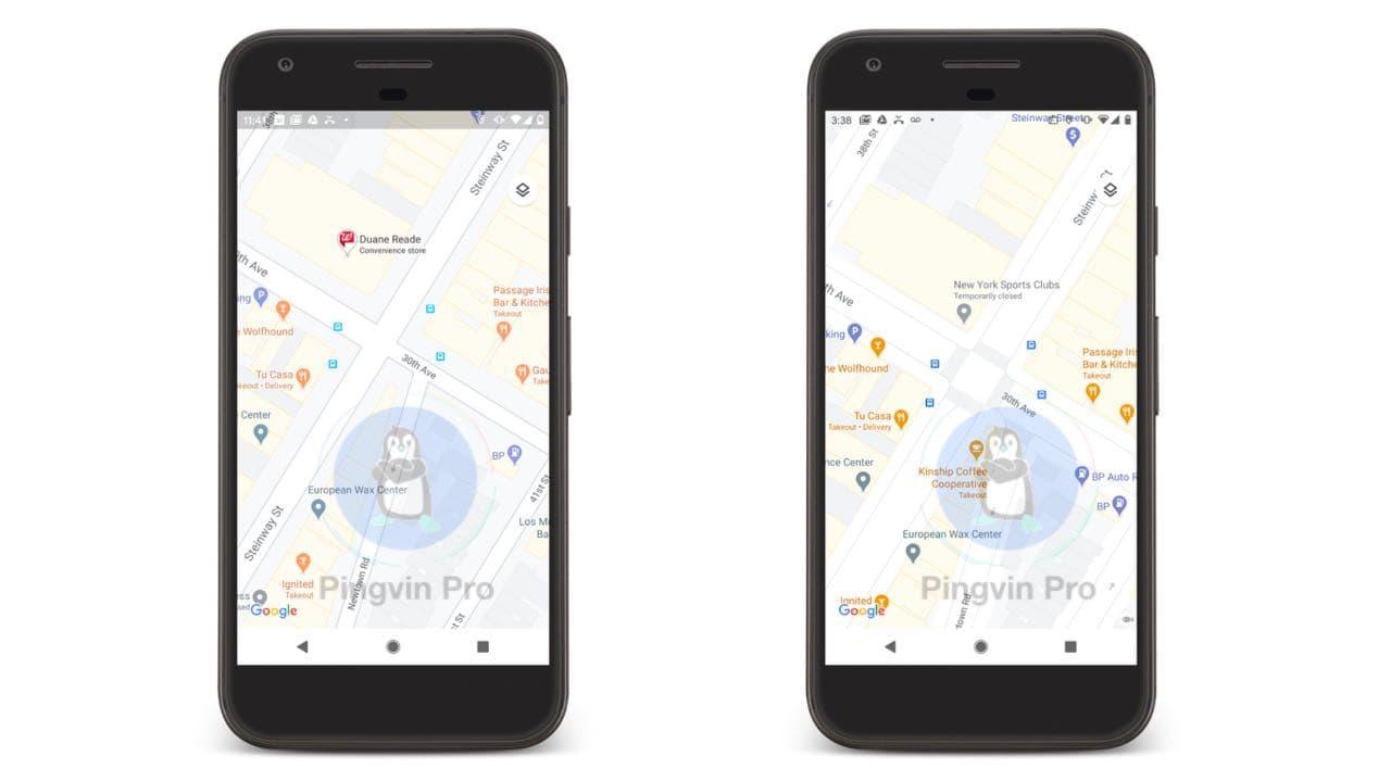 Додаток Google Maps отримав кращу деталізацію природних об'єктів та вулиць
