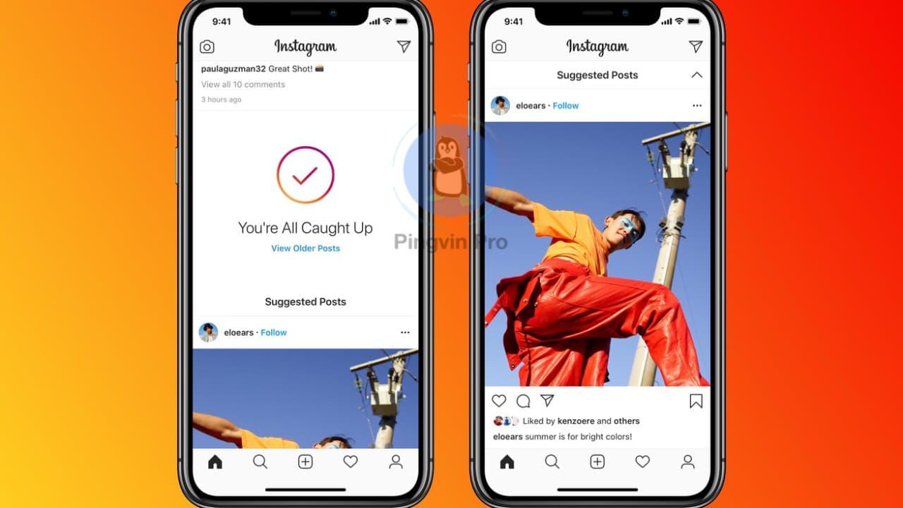 Instagram запускає функцію рекомендованих постів