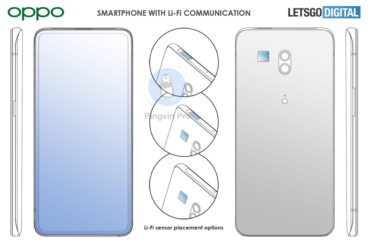 OPPO розробляє смартфон з технологією Li-Fi