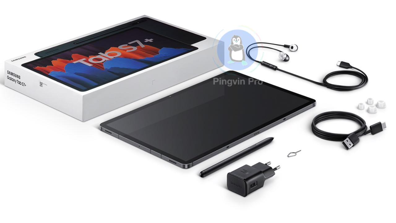 Samsung Galaxy Tab S7 та Galaxy Tab S7+