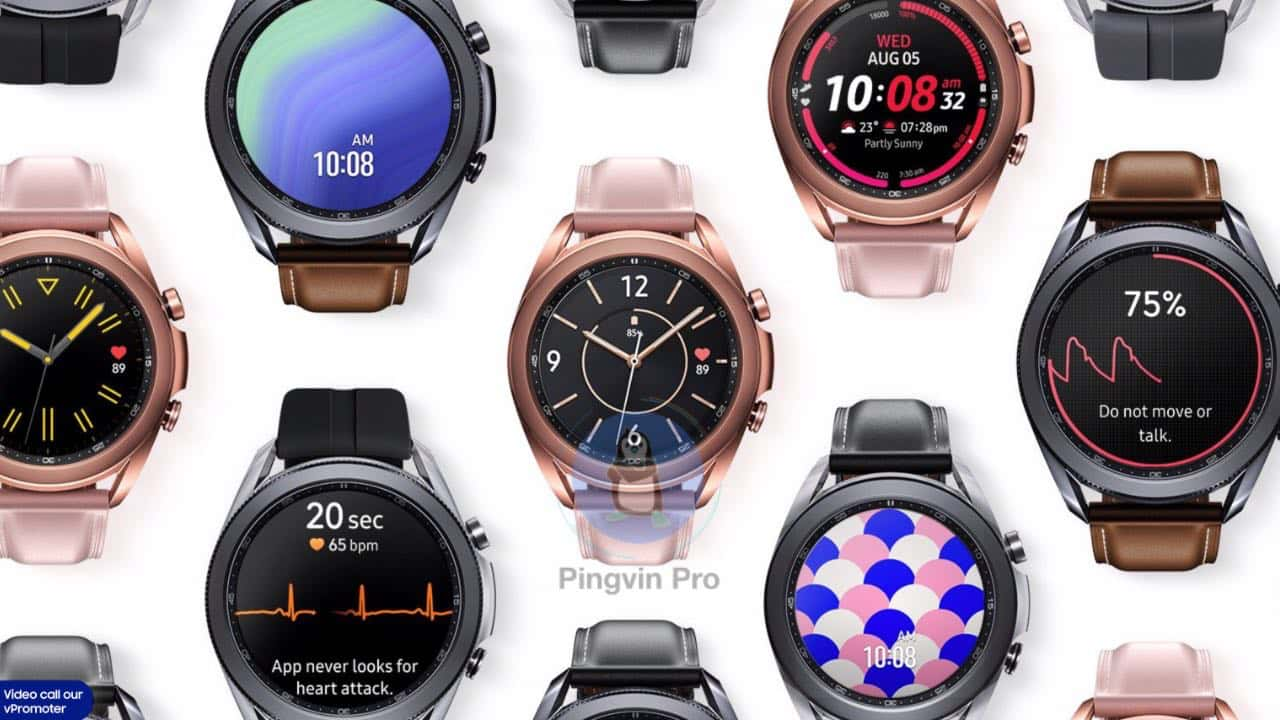 Samsung Galaxy Watch3 представили