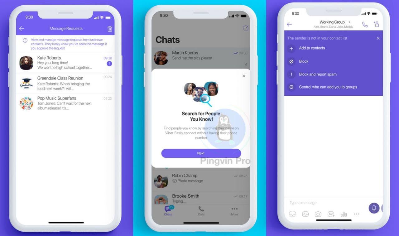 Viber впровадив нові функції конфіденційності