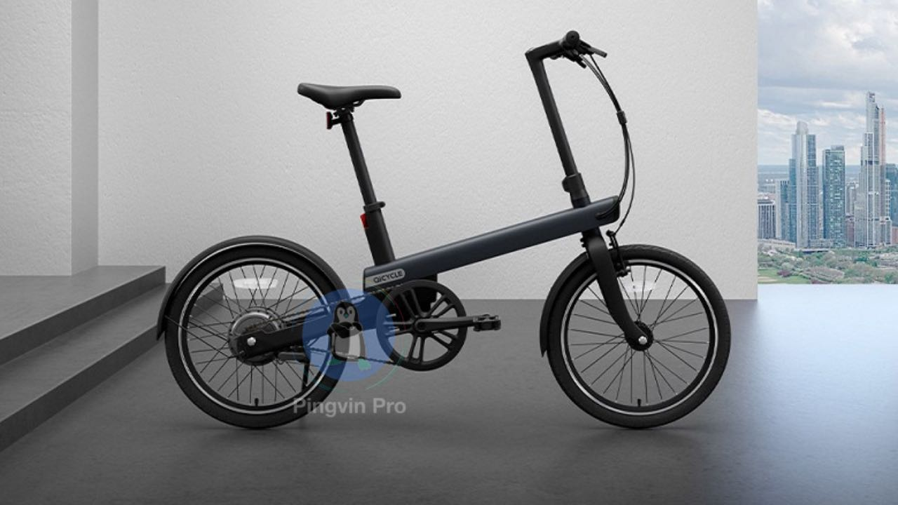 Xiaomi електровелосипед Qicycle Electric Power-Assisted Bicycle National Standard 16x9