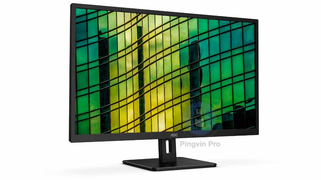 AOC представила нові монітори серії E2 з підтримкою QHD та 4K