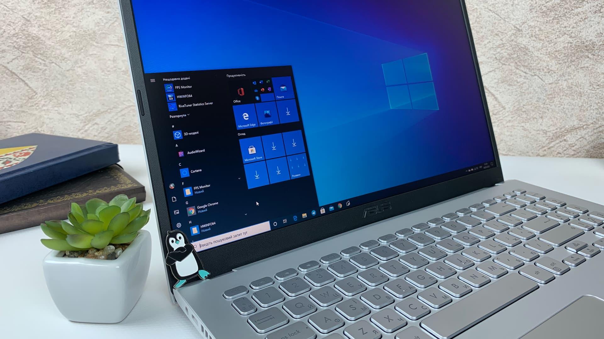 Windows 10 ASUS X509JP EJ070 / Windows 10 20H2