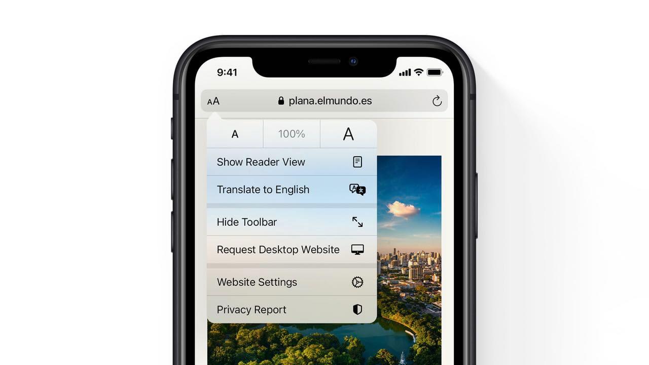 Safari в iOS14