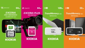 Kioxia - SD - microSD - флеш-накопичувачі
