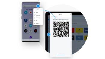 Opera для Android - Flow