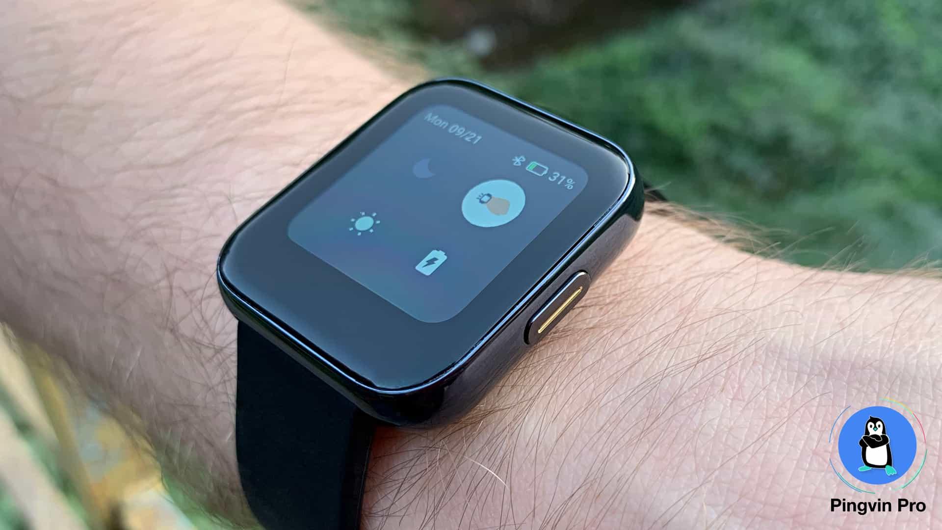realme Watch (швидкий доступ / кнопка)