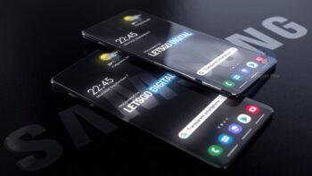 Прозорий смартфон Samsung