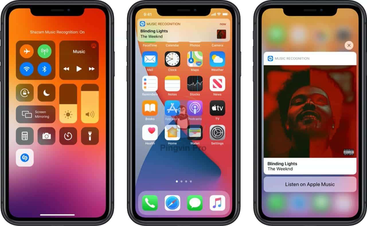 Shazam для iOS