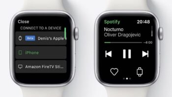 Spotify для Apple Watch (beta)