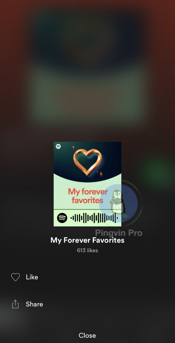 Spotify «My Forever Favorites»
