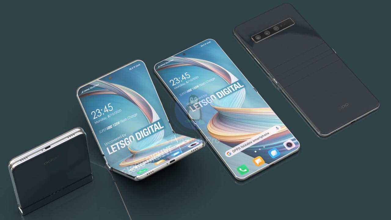 OPPO Reno Flip 5G: компанія запатентувала новий складаний смартфон