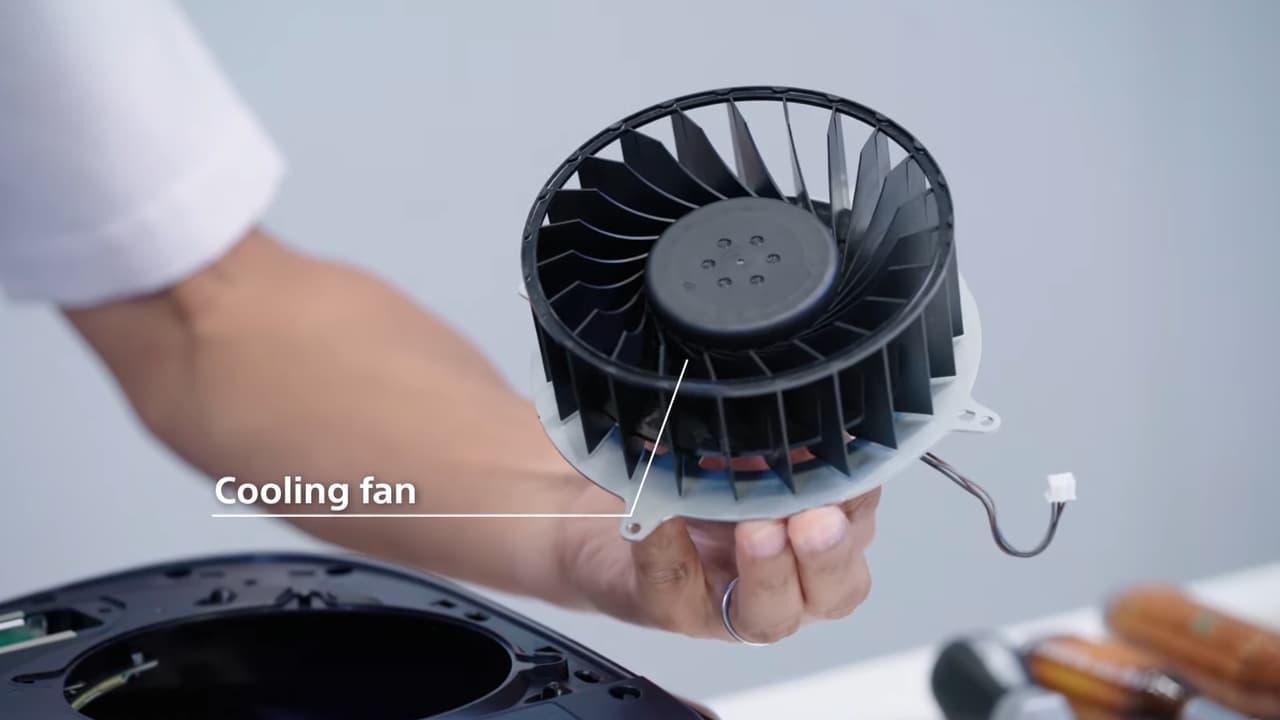 PlayStation 5 - вентилятор