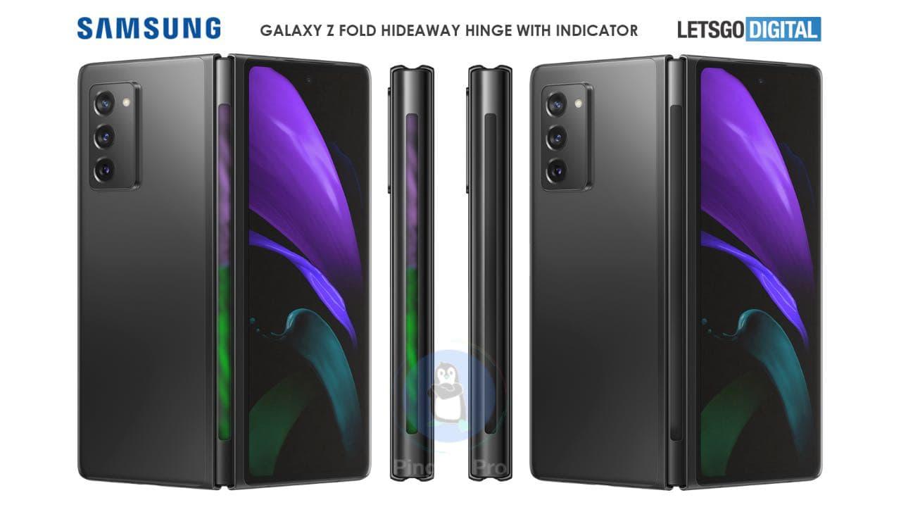 Рендер Samsung Galaxy Z Fold 3