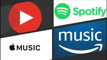 Spotify - Apple Music - Youtube Music - Amazon Music