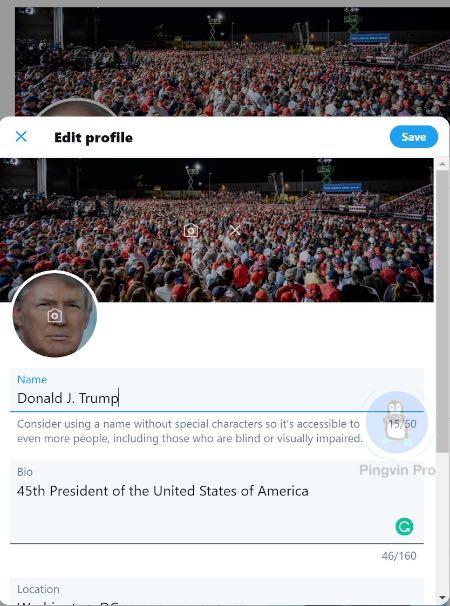 Хакер підібрав пароль до сторінки Дональда Трампа у Twitter всього з 5 спроби