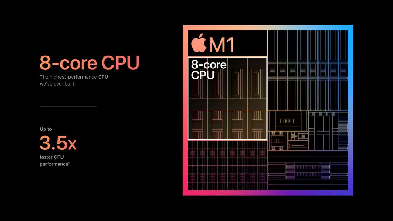 Apple M1 – чипсет / платформа / SoC