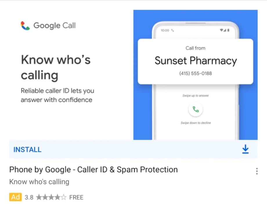 Додаток Google «Телефон» отримає нову назву та іконку