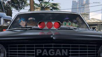 Gorillaz та Beck у GTA V (Grand Theft Auto V)