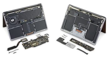 iFixit розібрали MacBook Air та MacBook Pro на базі M1