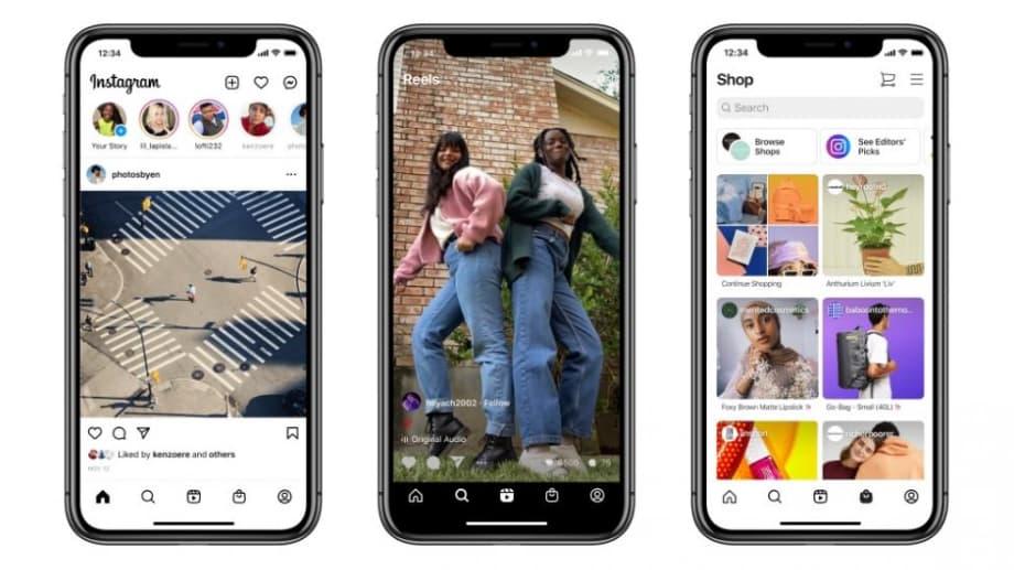 Instagram кардинально змінив дизайн головного екрана