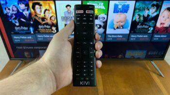 Розумний телевізор KIVI 43U710KB на Android TV / Play Movies