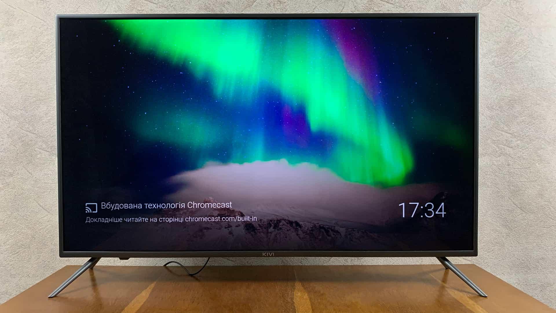Розумний телевізор KIVI 43U710KB на Android TV