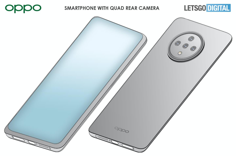 OPPO смартфон - підекранна камера