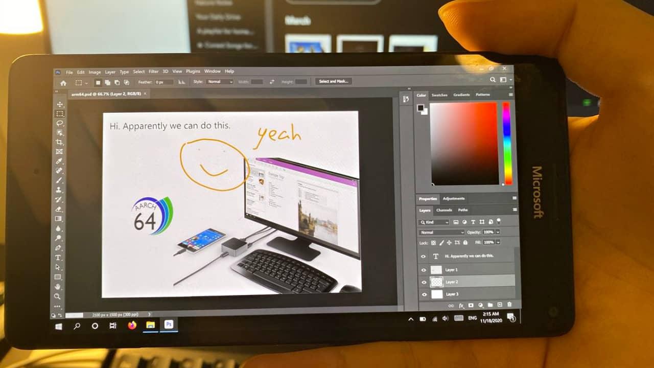 Photoshop на Microsoft Lumia