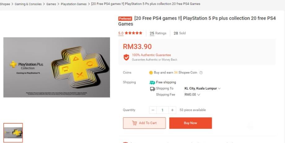 Sony назавжди заблокувала профілі гравців PS5, які продавали доступ до PS Plus Collection