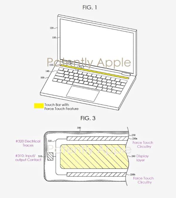 Сенсорна панель Touch Bar в Apple MacBook Pro отримає технологію трекпада