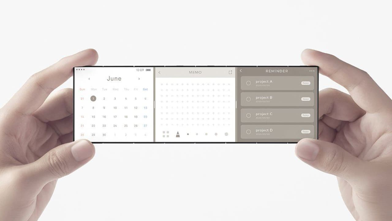 OPPO концепт складаного смартфона