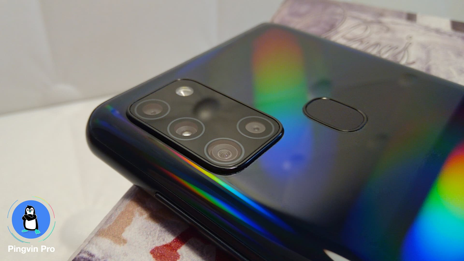 Samsung Galaxy A21s (тилова камера, сканер)