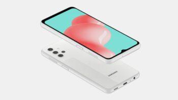 Samsung Galaxy A32 рендер