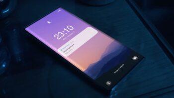 Galaxy Note з камерою під екраном