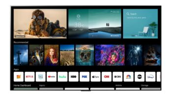 LG Smart TV webOS 6.0
