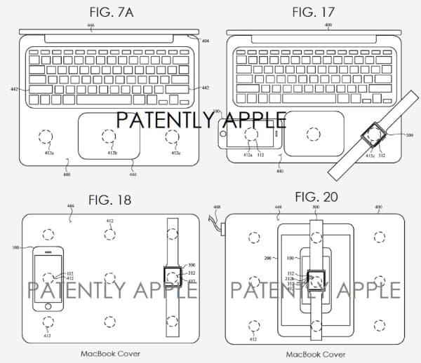 MacBook зможе заряджати iPhone, iPad та Apple Watch бездротовим способом