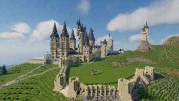 Minecraft - Гоґвортс - Гаррі Поттер