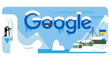 Google дудл станція «Академік Вернадський»