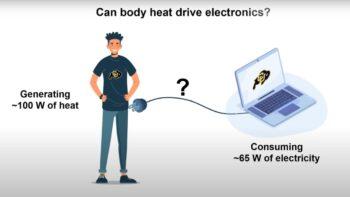Люди зможуть заряджати розумні ґаджети теплом тіла