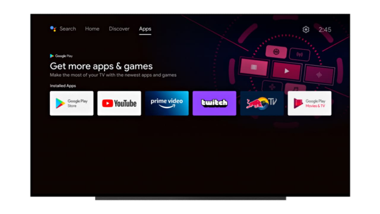 Новий інтерфейс Android TV