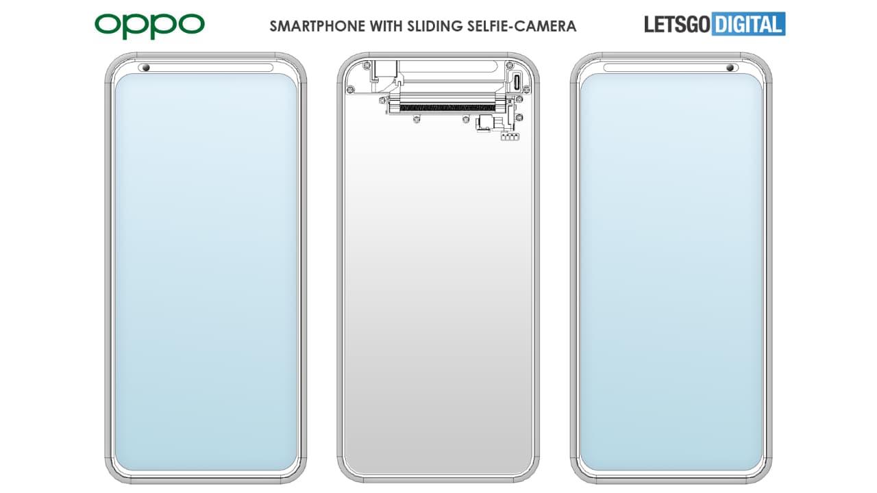 OPPO розробила новий тип фронтальної камери в смартфоні