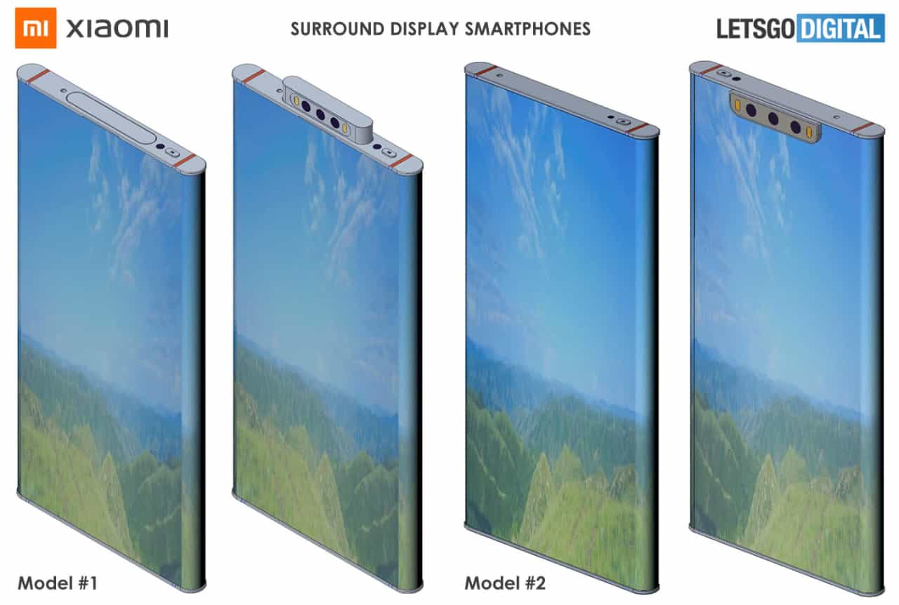 Xiaomi Mi Mix Alpha 2 патент