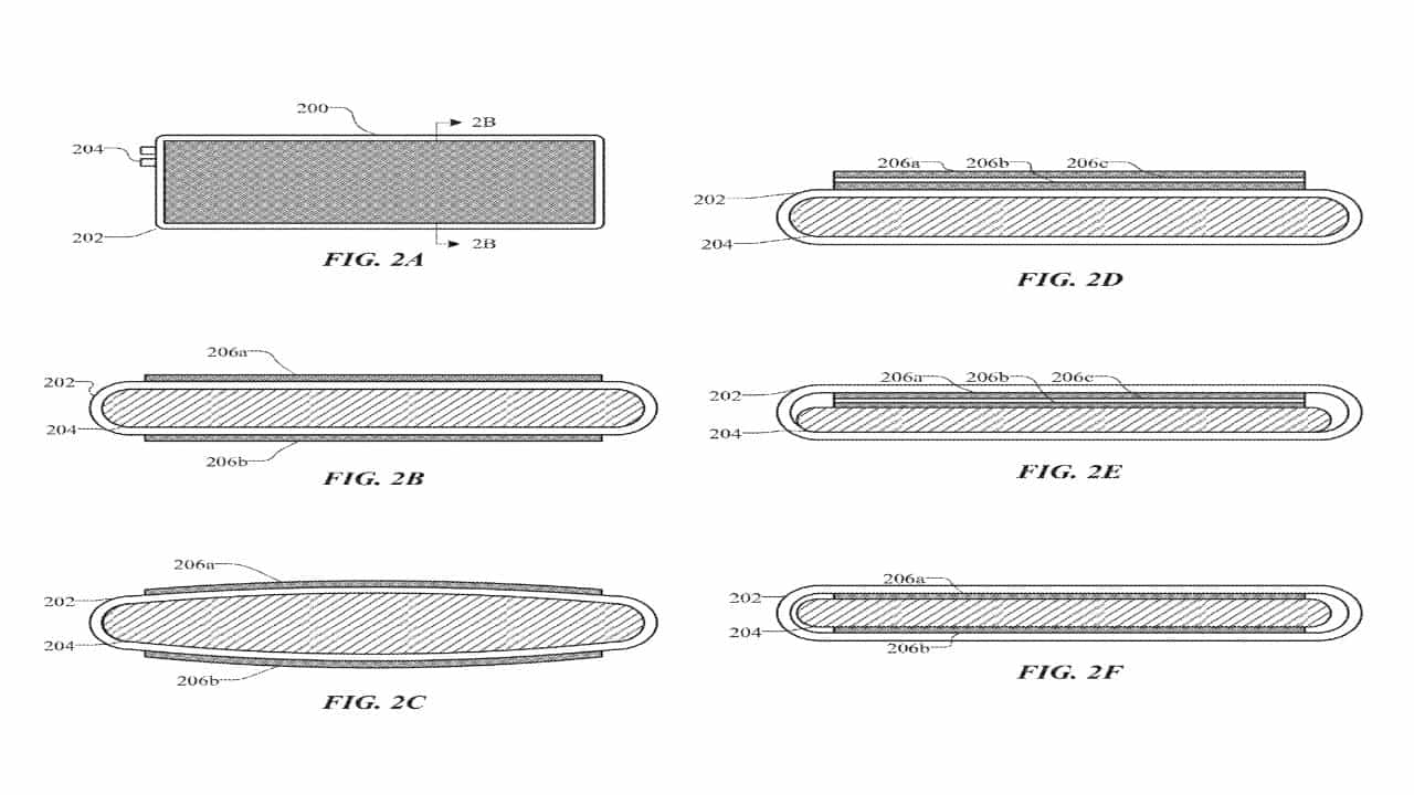 Apple - патенти - здуття акумулятора