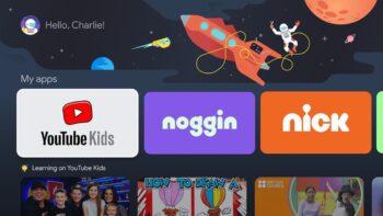 Google TV дитячі профілі