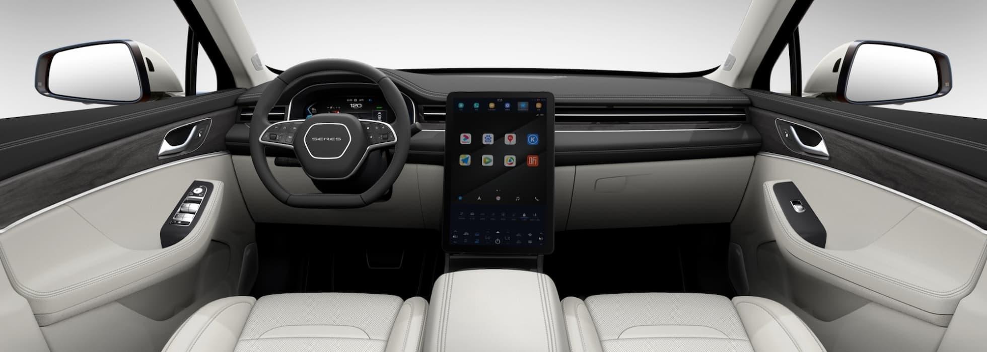 Гібридний автомобіль Cyrus Huawei Smart Selection SF5