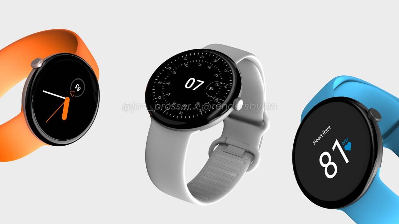 Google Pixel Watch рендер