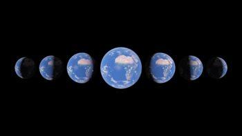 Timelapse Google Планета Земля